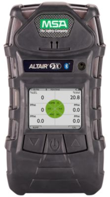 MSA ALTAIR 5X Multigas Detectorin charcoal grey color with colour display